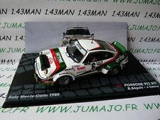 RIT46 voiture 1/43 IXO altaya ITALIE Rallye Monte Carlo 80 PORSCHE 911 Sc Beguin
