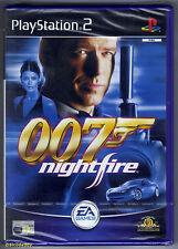 PS2 James Bond: 007 Nightfire (2002), UK Pal, Brand New & Sony Factory Sealed