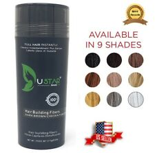Hair Loss Concealer 9 Colors 27.5g USTAR Hair Fibers and/or Tool Free Shipping
