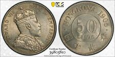 1905 Hong Kong 50 Cent PCGS AU