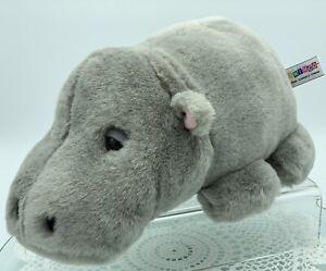 Kormico, Plush Hippopotamus, 28cm Long, 11'