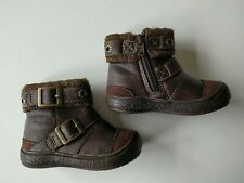 Mothercare Brown Baby Boy / Girl Ankle Boots - Size Infant 3