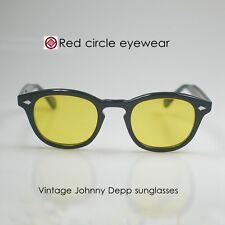 Retro Vintage Johnny Depp sunglasses Night Vision Eyeglasses Fishing yellow lens