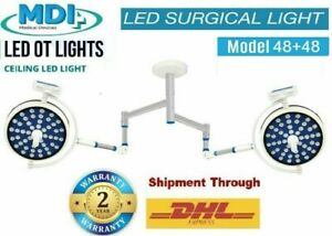 Model Operation theater Lamp OT Light LED Number of LED-48 + 48 Double Dome Lamp