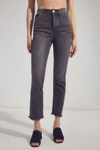 NWT Urban Outfitters BDG Straight + Narrow Destroyed High Rise Jeans Sz 32