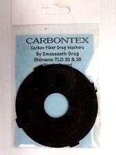 Carbontex Carbon Fiber Drag Washer Shimano Tld 20 & 25 Single Speed Reels 1-Pcs