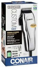 NEW Conair 21-Piece CUSTOM CUT Haircut Kit + Case HC200GB shaver clipper trimmer