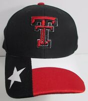 Texas Tech Hat Cap Snapback NCAA Zephyr University Red Raiders USA  New