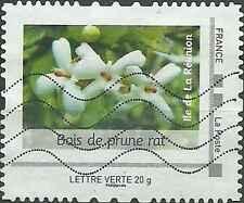 Timbre France Collector Flore Bois de prune rat oblitéré lot 15740