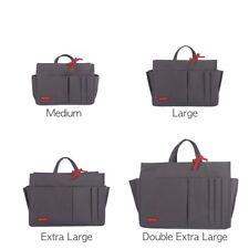 MYLIORA Waterproof Sturdy Tidy Bag Liner Purse Insert Organiser M-XXL, Dark Grey