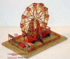 More details for fair big wheel set motorised nq13+mot unpainted n gauge scale langley models kit