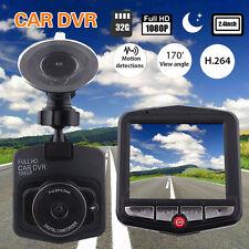 """1080P 2.4"""" Car DVR Vehicle Dash Cam Camera Crashcam Recorder G-sensor Black Box"""