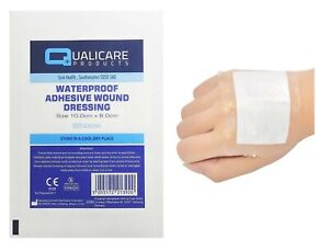 Waterproof - Adhesive Wound Dressings Sterile - Cuts & Wounds -Transparent