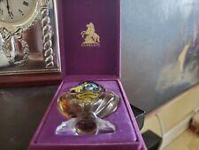 Vintage GUERLAIN Paris SHALIMAR Perfume Bottle 1/3 oz Original Packaging ETCHED