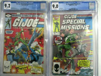 G.I. Joe Real American Hero #1 & Special Missions #1 CGC  9.2 & 9.0 MOVIE