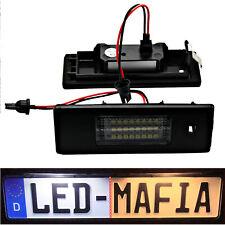 2x Alfa Romeo 147 156 166 Mito Gt - LED License Plate Light Module - 6000K