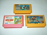 Super Mario Bros 1+2+3 Greatest 3 titles A Nintendo Famicom FC Japan import