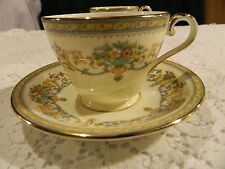 "Aynsley Bone China ""Henley"" Teacup and Saucer"