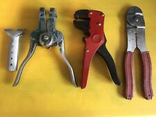 Electrical Tools Lot 4 Gauge Cutters Strippers Etc.
