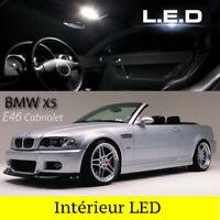 Kit ampoules à LED pour l'éclairage intérieur blanc BMW  série 3  E46 cabriolet