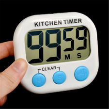 Large LCD Digital Cooking Timer Kitchen Count-Down Up Clock Loud Alarm Magnetic