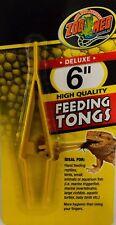 "Zoo Med Plastic Feeding Tongs 6"""