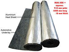 Underfelt Underlay Soundproofing + Aluminium HeatShield  (2 Rolls)