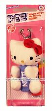 HELLO KITTY By SANRIO Dispenser+Clip PEZ CANDY Assorted Candies RED BOW New! 1/2