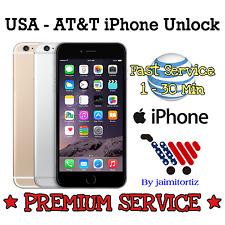FACTORY UNLOCK✅PREMIUM✅HIGH PRIORITY✅Code Att AT&T  iPhone 4 4S 5 5S 6 6+ 7 ALL