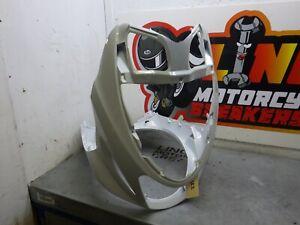 Suzuki Katana AY50 01> Front Fairing Panel Nose Cone Headlight Knee White SK2