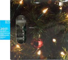 de 20 fil Guirlande lumineuse lämpchen Noël éclairage intérieur vert NEUF