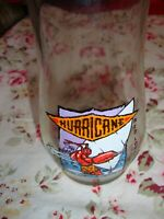"""Vintage Red Lobster Hurricane Cocktail Glass Bar-ware, Drink-ware 7"""" Tall    332"""