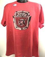 T-Shirt w/ 1953-56 Ford Truck Hood Emblem / Logo