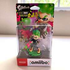 Nintendo Splatoon 2 Inkling Boy (Neon Green) Amiibo Figure New in Box!