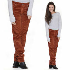 Corduroy Mid Stretch Trousers for Women