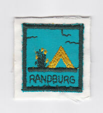 SCOUTS OF SOUTH AFRICA - SOUTH AFRICAN SCOUT RANDBURG DISTRICT Patch