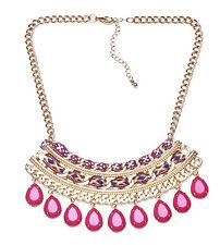 Glamoroso Azteca inspirado Oro Ajustable Collar entrelazadas Paño (Ns2)