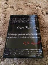 LEAVE YOUR SLEEP Ray Russell 1st ed 100 COPY SIGNED/LIMITED HC fine UK IMPORT