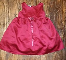 Amber Celeste for Biscotti Red Princess Baby/Toddler Girl Dress, size 24 Months