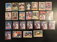 25 Card Nolan Ryan Lot 1990 Bowman 1987 Topps + More Texas Rangers (B8) HOF