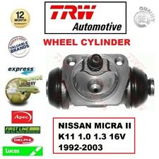 Para Nissan Micra K11 1.0 1.3 16V 1992-2003 1x Eje Trasero Cilindro Del Freno de