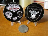 Welcome to Fabulous Las Vegas Raiders Raider Nation 3D Football Challenge Coin