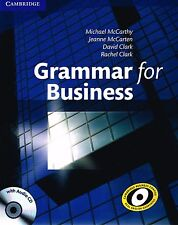 Cambridge GRAMMAR FOR BUSINESS with Key & Audio CD I McCarthy Clark @NEW@