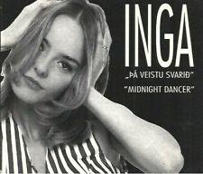 "Inga ""Pa veista svarid/Midnight dancer"" Eurovision Iceland 1993"