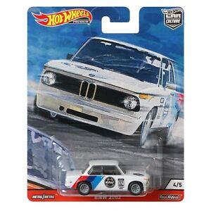 BMW 2002 Turbo Rally M 02 Hot Wheels Door Slammers Car Culture 2020 GJP79