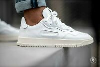 Adidas Originals SC Premiere Shoes Men's Size 10.5 Off White Sneakers NEW EE6327