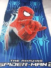 Telo mare Spiderman Marvel 73x136 cm Spugna in Cotone 100% A174
