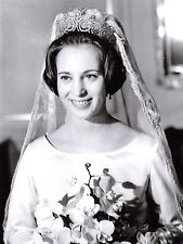 Giant Size Repro Postcard Wedding Photo Princess Benedikte of Denmark OS169