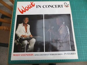 Wout Steenhuis in concert -signed vinyl