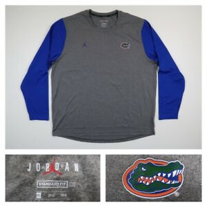 Nike Men's 3XL Jordan Jumpman Florida Gators Long Sleeve DRI FIT Shirt XXXL